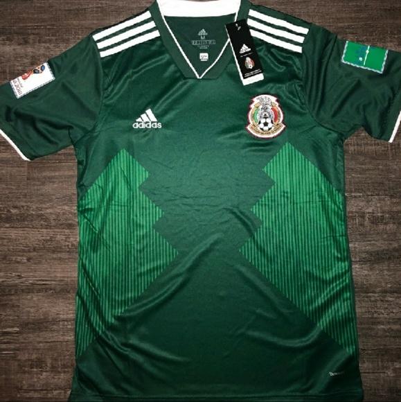 c7b62ddb371 Mexico Jersey 2018 FIFA Official Logo